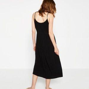 Zara strappy midi dress